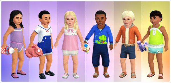 Pour le retour des bambins dans les sims 4 for Sims 3 chambre bebe